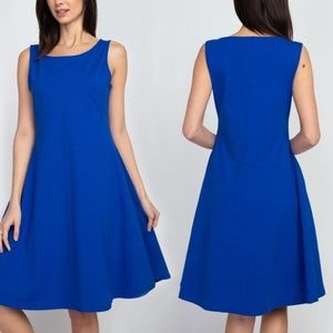 Style Clad Women's A-Line Dress with Pockets